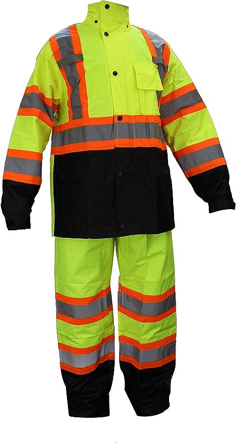 Amazon.com: RK Safety RW-CLA3-TOR77 - Traje de lluvia clase ...