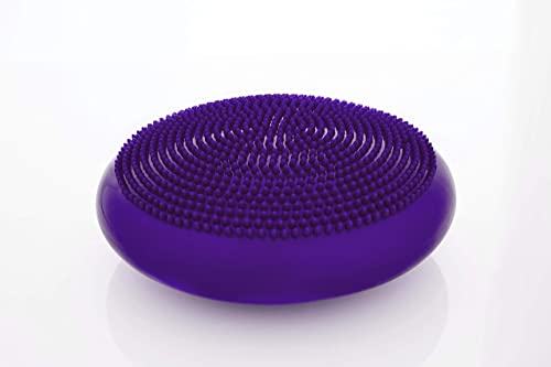 Vitos Inflatable Balance Disc Fitness Core Stability Trainer Wiggle Pad