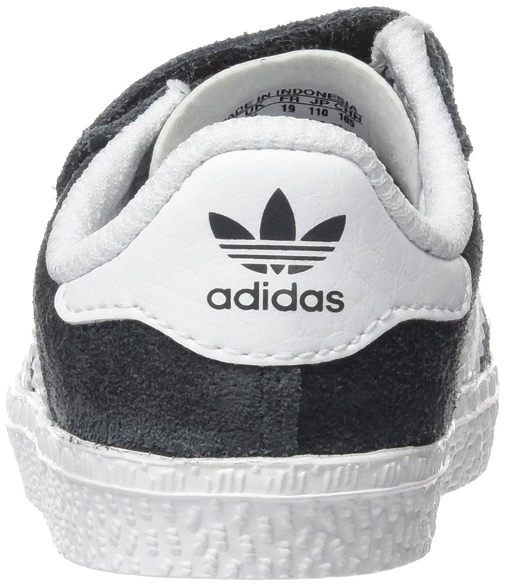lowest price 57762 46ea6 adidas Gazelle 2 CF, Scarpe Primi Passi Unisex - Bimbi 0-24, Grigio DGH  Solid Grey Ftwr White, 27 EU  Amazon.it  Scarpe e borse