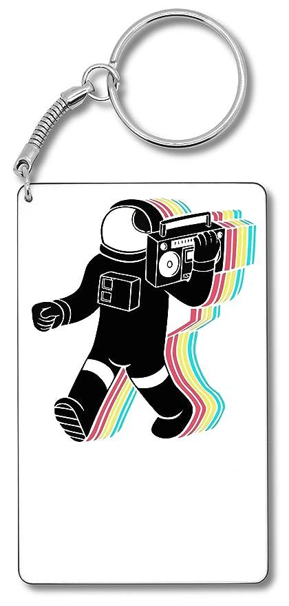 Cool Space Astro DJ Llavero Llavero: Amazon.es: Equipaje