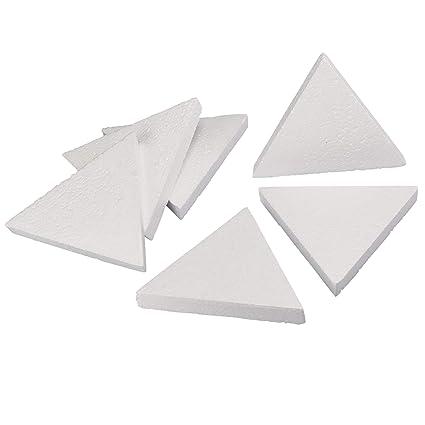 Amazon Com Craft Foam 6 Count Triangle Shaped Foam Sculpture