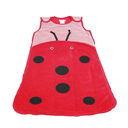 competitive price 36729 00d6b Pitter Patter Baby Sleeping Bag Ladybug 12-18 Months: Amazon ...