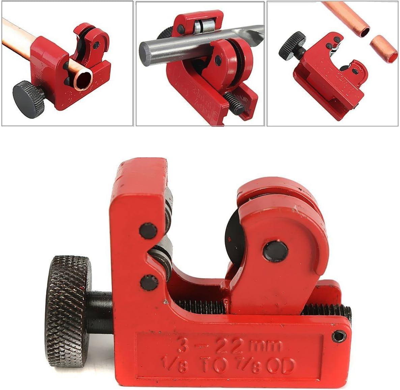 /22/mm PVC OD Herramienta de corte de tubo de cobre de aluminio. Mini cortador de tubo gochange 3/