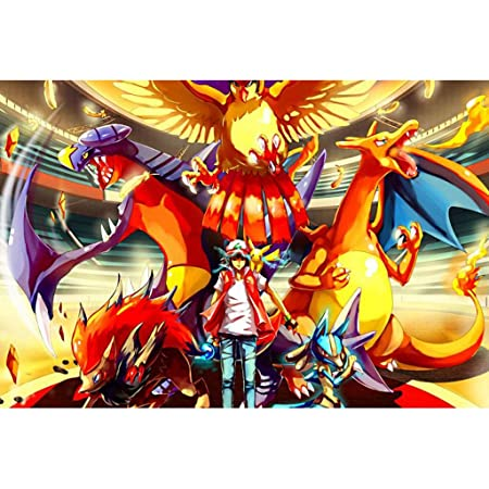 AMY-ZW Pokemon Pikachu Rompecabezas 500/1000/1500 Piezas De ...
