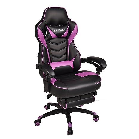 Amazon.com: Ergonómico computadora silla para videojuegos ...