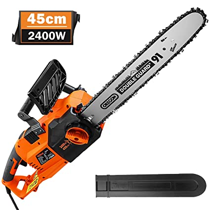 TACKLIFE Chainsaw - Forceful Engine