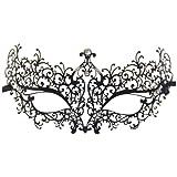 Geek-M Metal Laser Cut Masquerade Venetian Party Mask