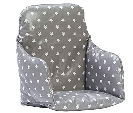 Messy Me cojin de silla alta - de Fácil limpieza (Gris con ...