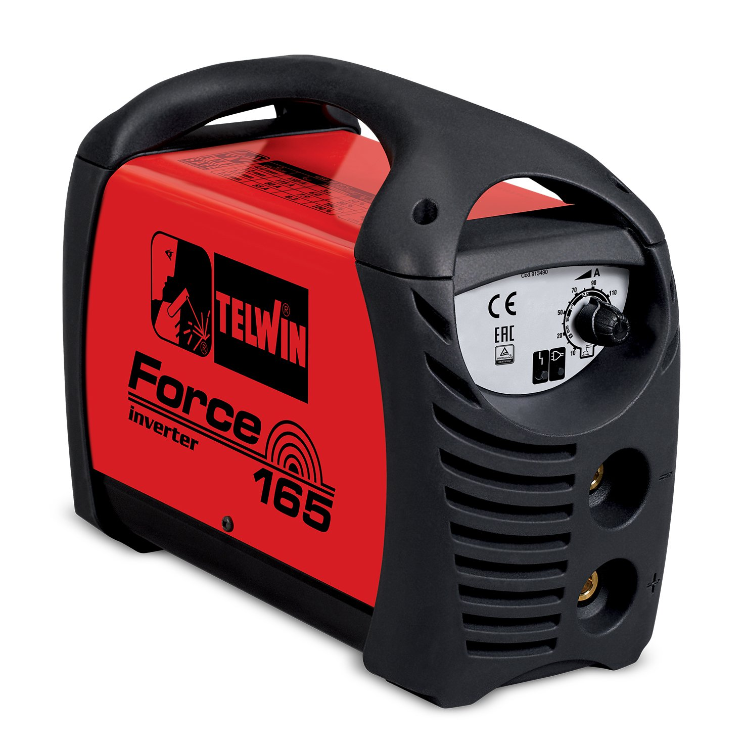 Telwin Force 165 - Soldadora electrodos MMA inverter: Amazon.es: Amazon.es