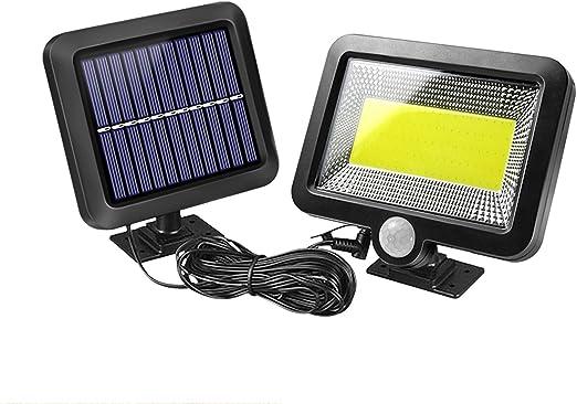 Waterproof 100 LED PIR Motion Sensor Solar Outdoor Garden Lamp Yard Flood Light