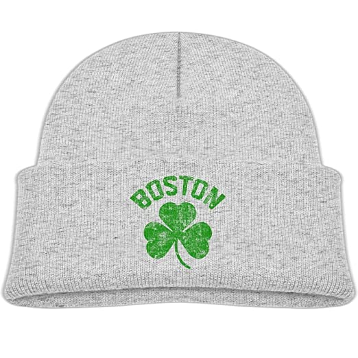 bb0dc625b93 Amazon.com  Kocvbng I Beanie Cap Boston Green Winter Knit Hat Baby ...
