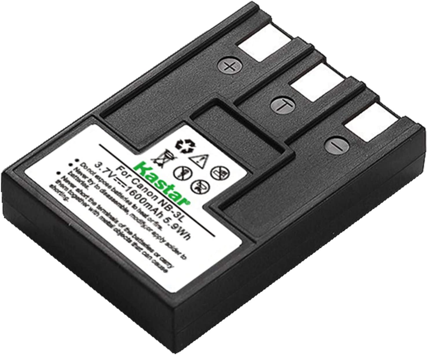 NB-3L Battery compatible with Canon ixus 700 750 PowerShot SD10 SD20