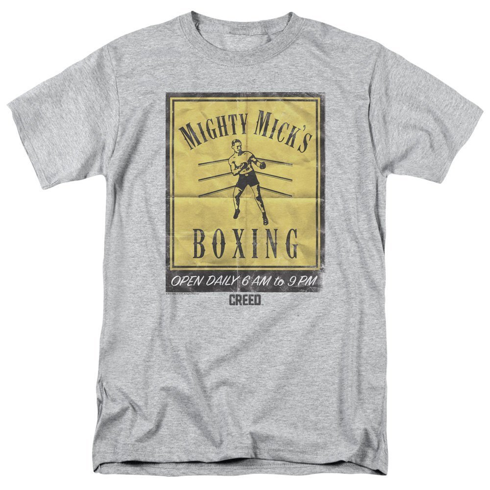 Creed Movie Mighty Micks Boxing Poster Adult T-Shirt All Sizes