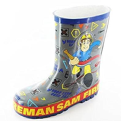 f1301ea01 Fireman Sam Childrens Rubber Wellies (4 UK Infant