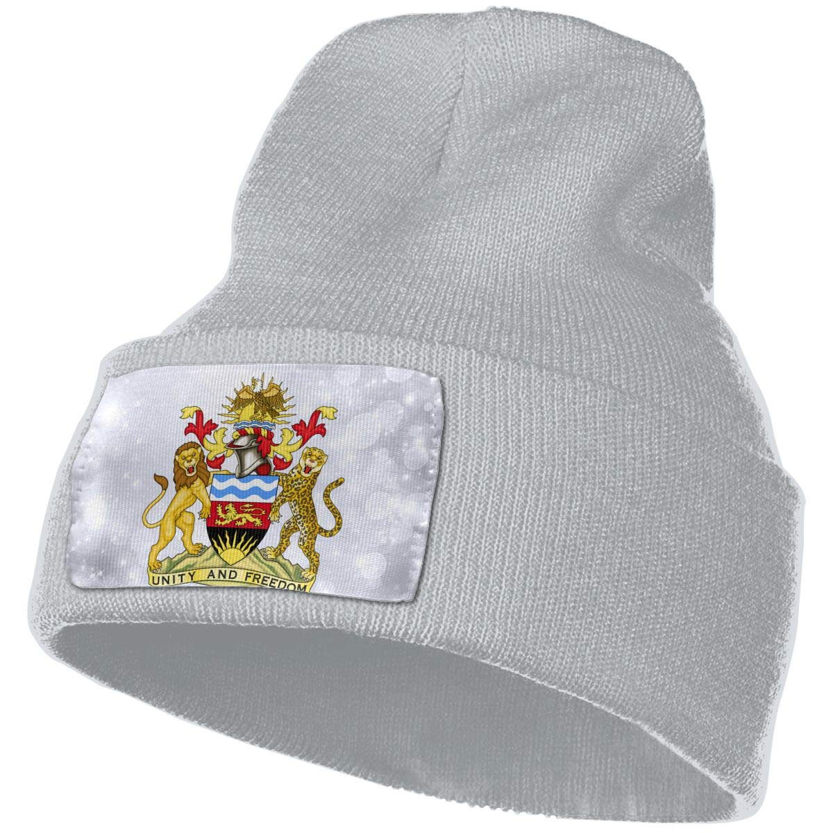 JimHappy Coat of Arms of Malawi Hat for Men and Women Winter Warm Hats Knit Slouchy Thick Skull Cap
