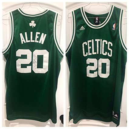 check out 50aa9 ec373 Ray Allen Autographed Signed Memorabilia Celtics Swingman ...
