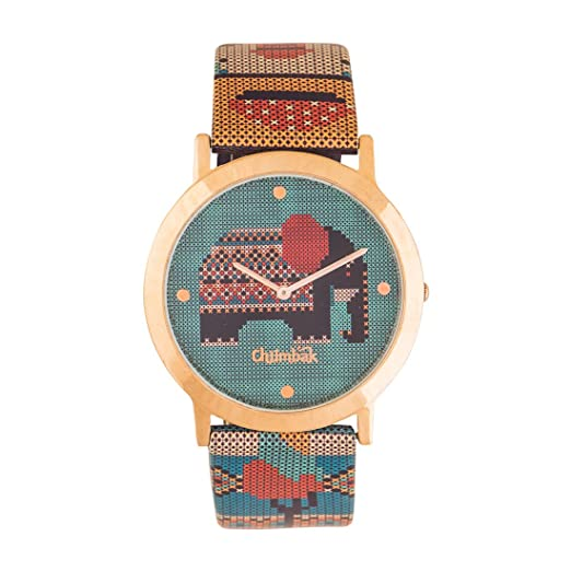e3663879c162f Buy Chumbak Analogue Green Dial Women s Watch Online at Low Prices in India  - Amazon.in