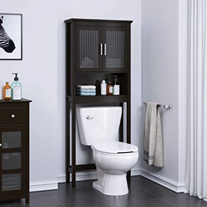 Awesome Amazon Com Spirich Home Bathroom Shelf Over The Toilet Download Free Architecture Designs Lectubocepmadebymaigaardcom