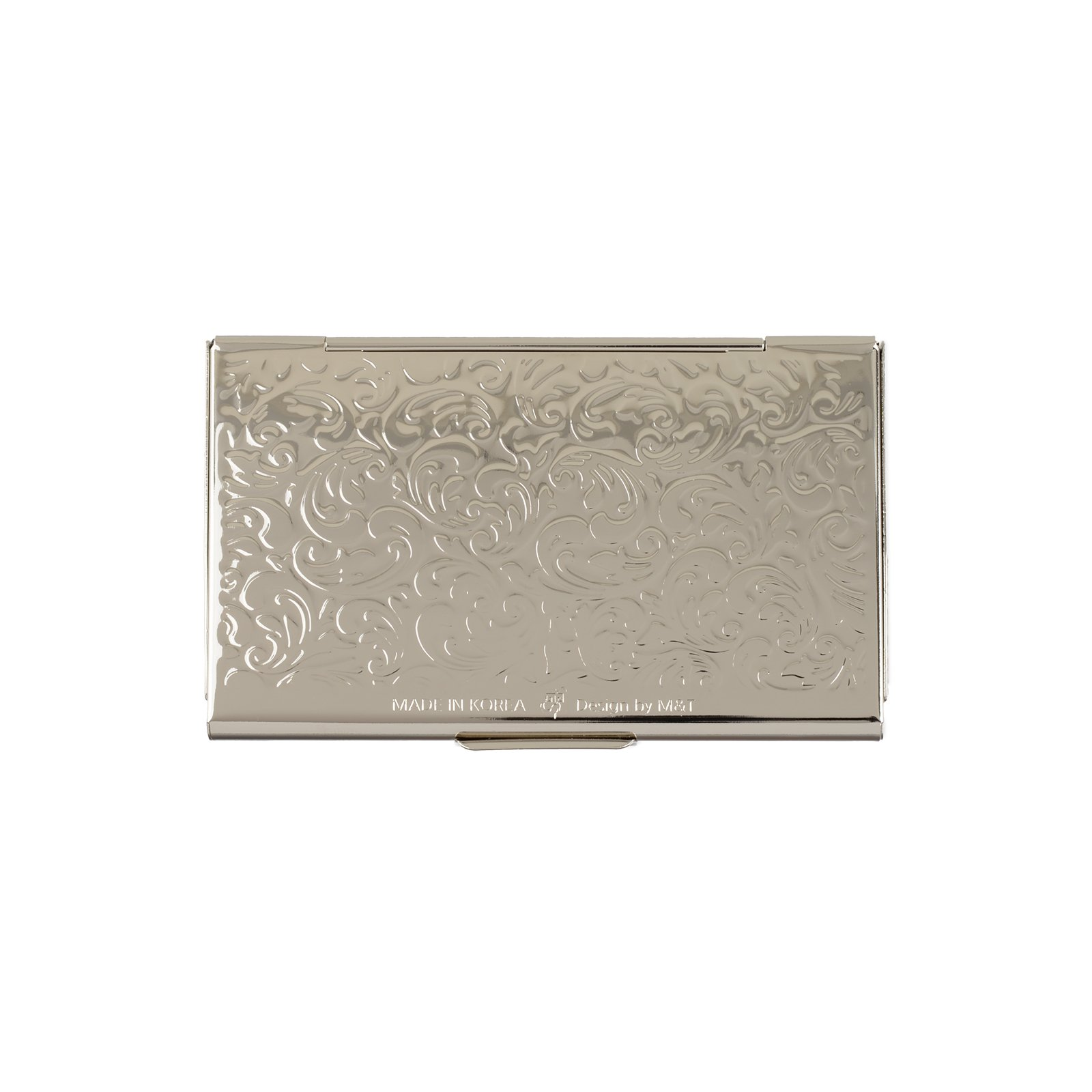 business name card holder stainless steel case Mother of Pearl Art Arabesque by MOP antique (Image #5)