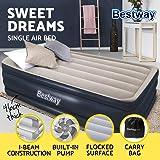 Bestway Air Bed Twin Inflatable Mattress Sleeping Mats Home Camping Built-in Pump & Pillow