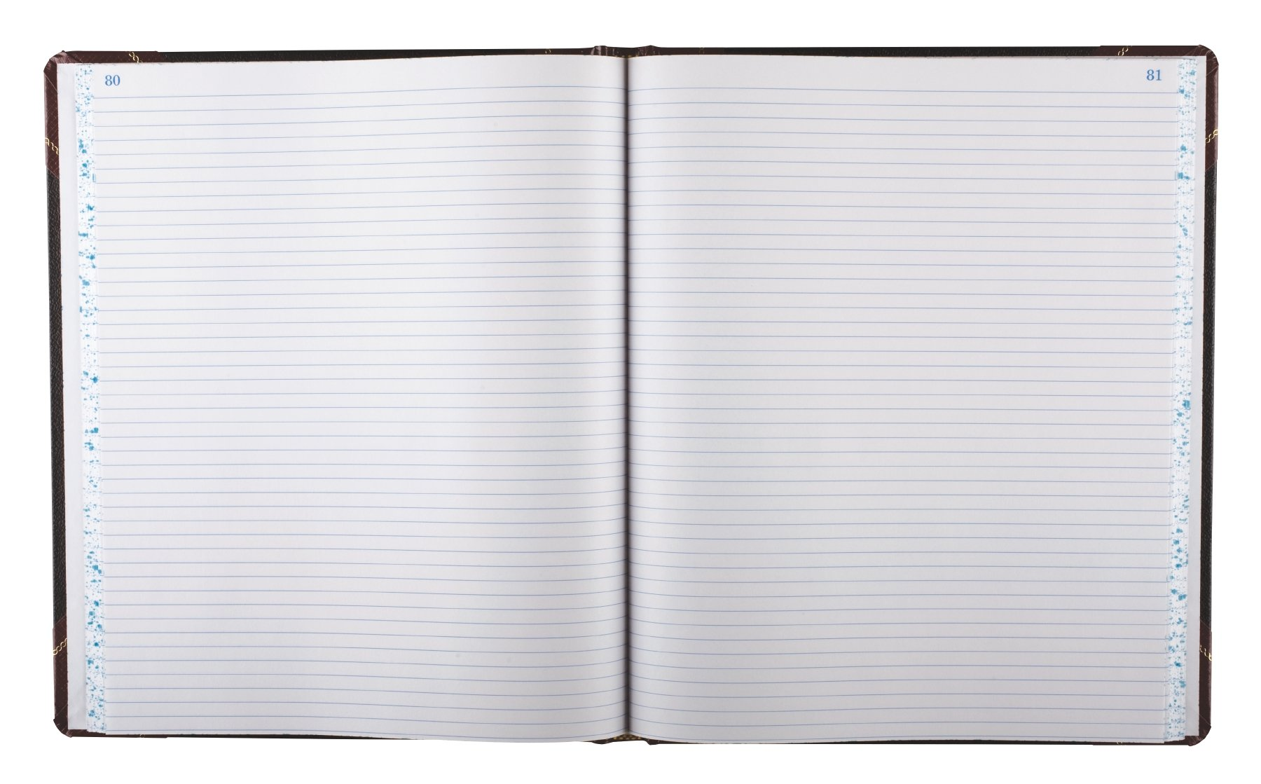 Boorum & Pease 16021215F Record Ruled Book, Black Cover, 150 Pages, 10 1/8 x 12 1/4