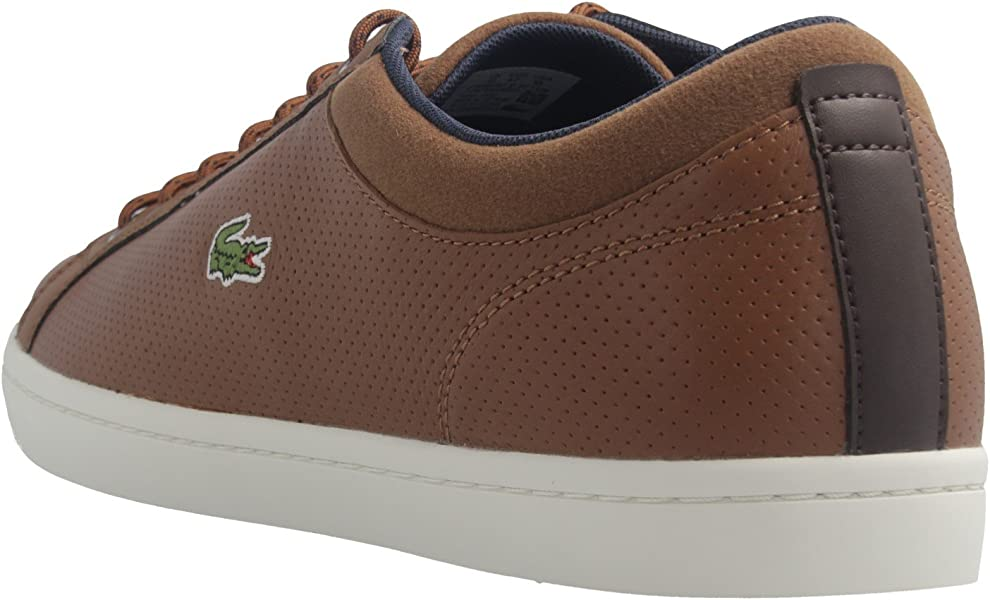 32110840e Men s Straightset Sp 317 1 Composition Leather Trainers. Back. Double-tap  to zoom