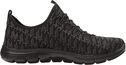 Skechers Flex Appeal 2.0 - Insights, Zapatillas sin Cordones para ...