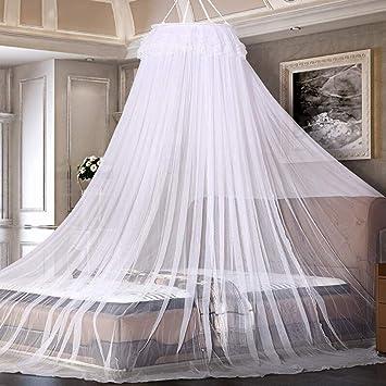 Oder Doppelbett L@*D Moskitonetz Bett Baldachin Insekten Netz Für Einzel