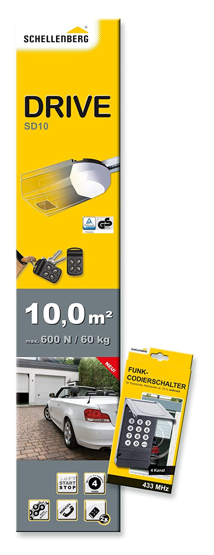 Schellenberg 60562Garage cancello Smart Drive 10+ Funk di CODI interruttore, colore: Antracite