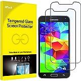 JETech Protector de Pantalla para Samsung Galaxy S5, Vidrio Templado, 2 Unidades