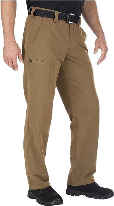 5 11 Tactical Series Pantalones Urbanos Para Hombre Primavera Verano Pantalones Urbanos Tacticos Para Hombre Fast Tac Hombre Color Marron Battle Brown Tamano 36w 34l Amazon Es Ropa Y Accesorios
