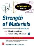 Schaum's Outline of Strength of Materials, 6th Edition (Schaum's Outlines)