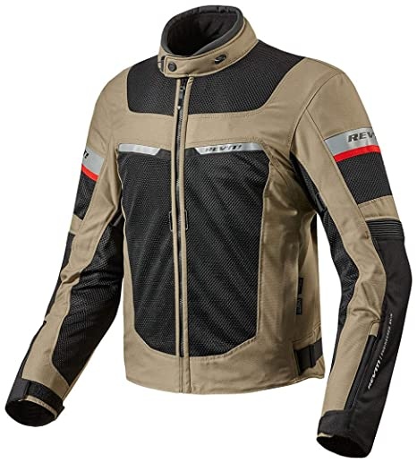 FJT205 - 5220-S - Rev It Tornado 2 Motorcycle Jacket S Sand Black