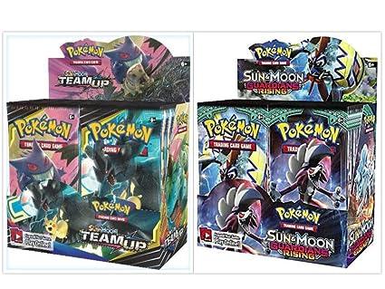 Amazon.com: Pokémon TCG - Caja de recuerdos para el sol y la ...