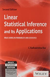 Amazon linear statistical inference and its applications linear statistical inference and its applications fandeluxe Gallery