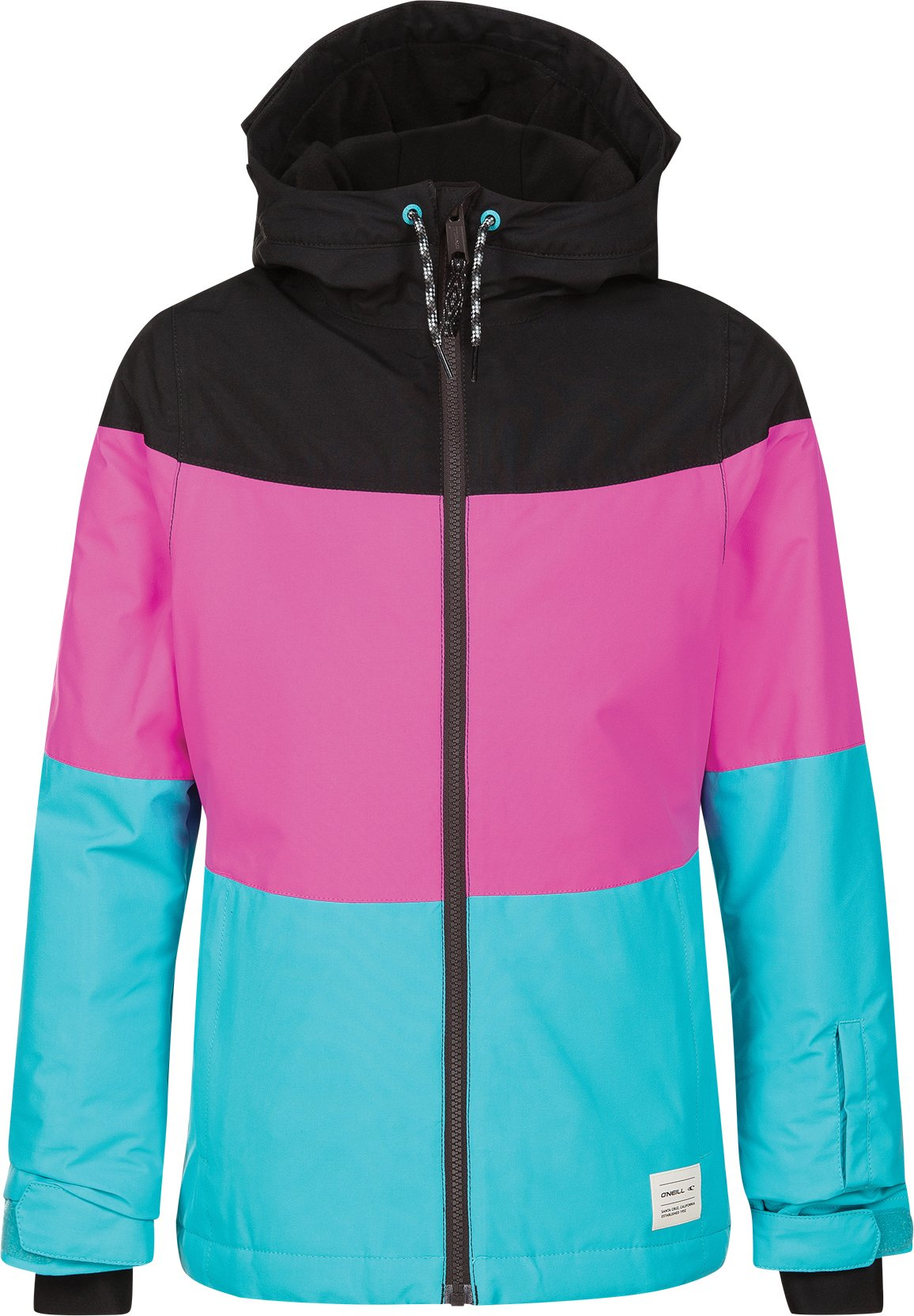 O'Neill Girls Coral Jacket, Teal Blue, Size 16