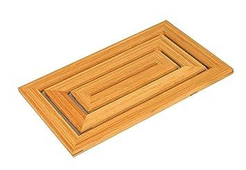 Bambus Boden Und Dusche Badteppich Skid Bestandig Lattenrost Ente