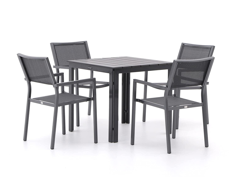 Bellagio Roma/Bravo 78 cm Esstischgruppe 5-teilig stapelbar bestellen