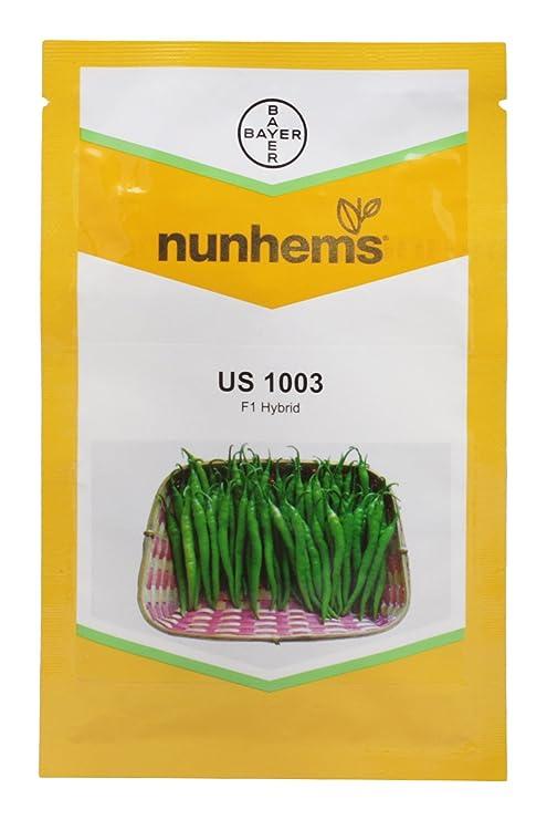 NUNHEMS Us 1003 F1 Hybrid Hot Pepper Seeds (8 g): Amazon in