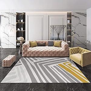 QUD Multicolor Glamour Collection Non-Slip Moroccan Trellis Design Runner Rug Home Decor 7/13 (Color : T, Size : 120CMX160CM)