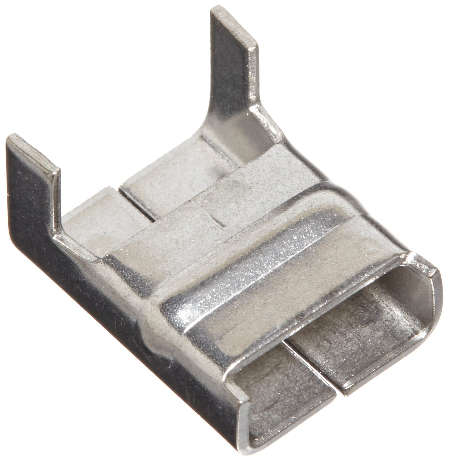 BAND-IT Clips AE4539, 316 Stainless Steel, 3/8'' Wide (100 per Box) by Band-It
