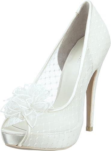 Menbur Scarpe Da Sposa.Menbur Wedding Adelia 04635 Scarpe Da Sposa Amazon It Scarpe E