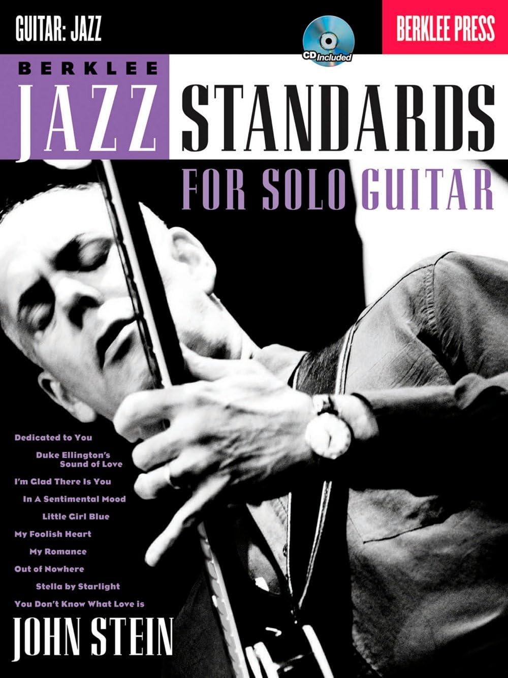 John Stein: Berklee Jazz Standards For Solo Guitar. Partituras, CD ...