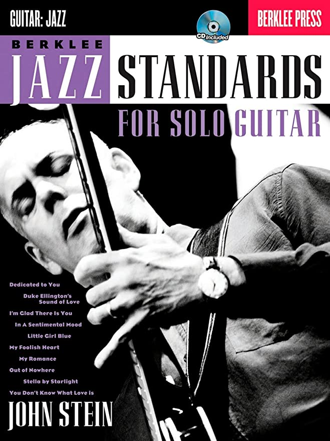 John Stein: Berklee Jazz Standards For Solo Guitar. Partituras, CD ...