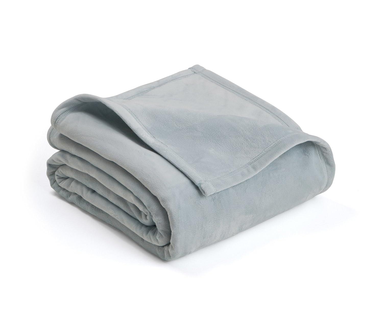 Vellux Plush Blanket Twin Ivory