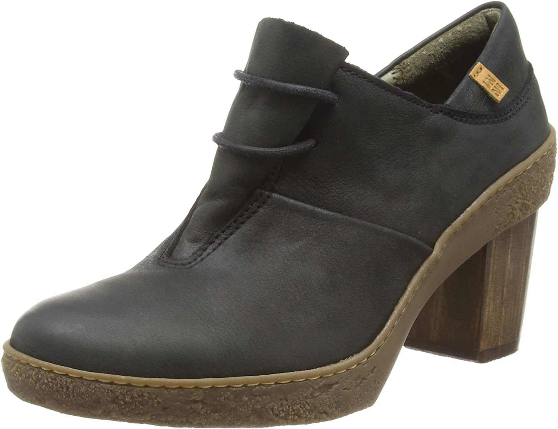 TALLA 39 EU. El Naturalista Nf70 Pleasant Lichen, Zapatos de Cordones Oxford para Mujer