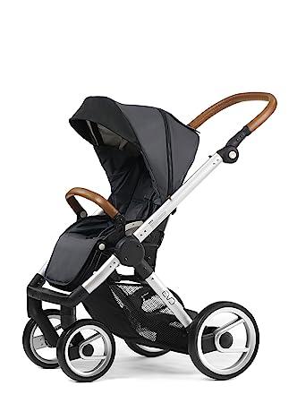 Mutsy Evo Urban Nomad Stroller, Silver Chassis, Dark Grey by Mutsy: Amazon.es: Bebé