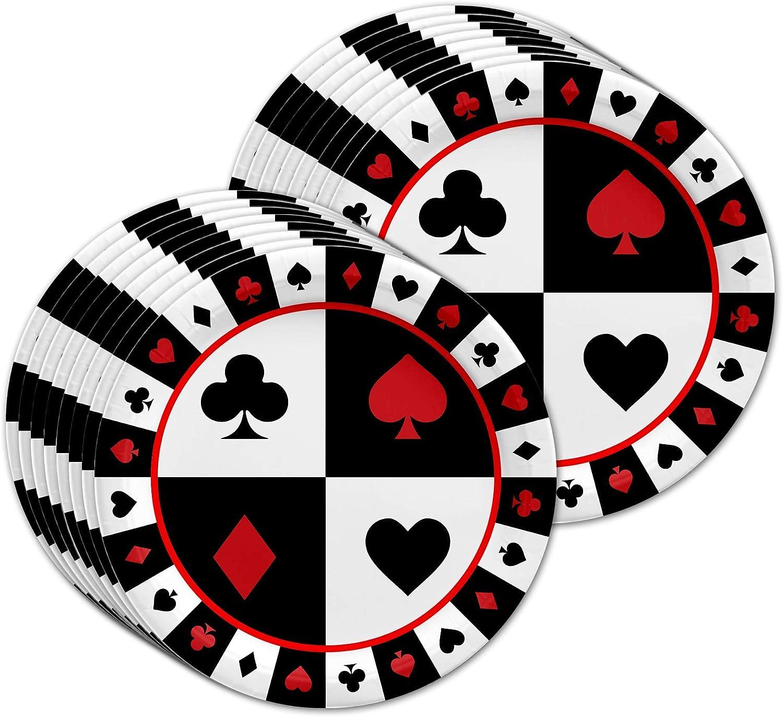 Amazon.com: Tarjeta Casino noche fiesta de cumpleaños ...