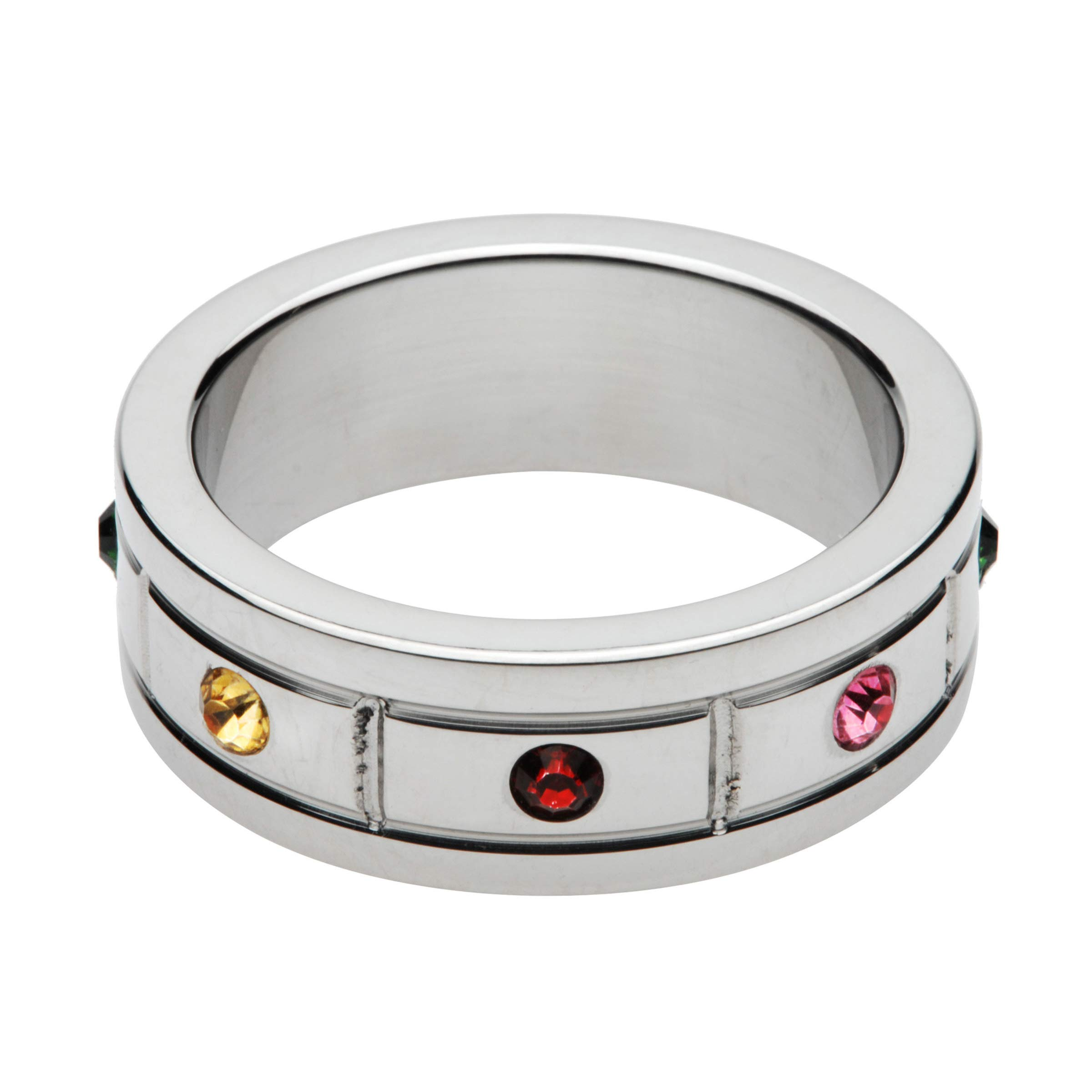 Master Series Jeweled Cock Ring, 1.95 Inch