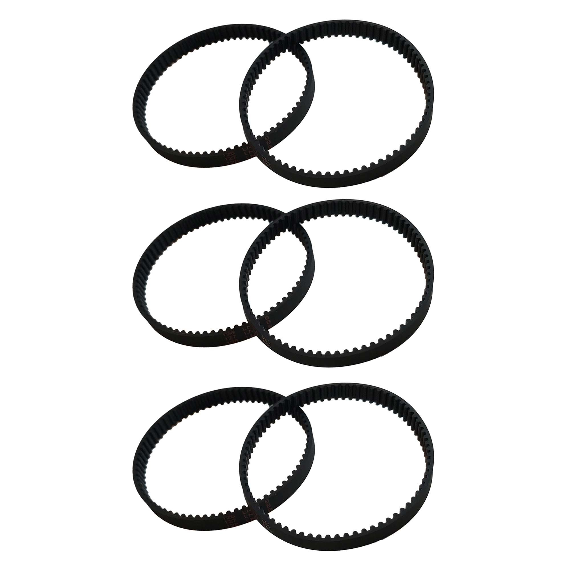 Think Crucial 6 Replacement for Dyson DC17 8-MM Belts, Compatible With Part # 911710-01